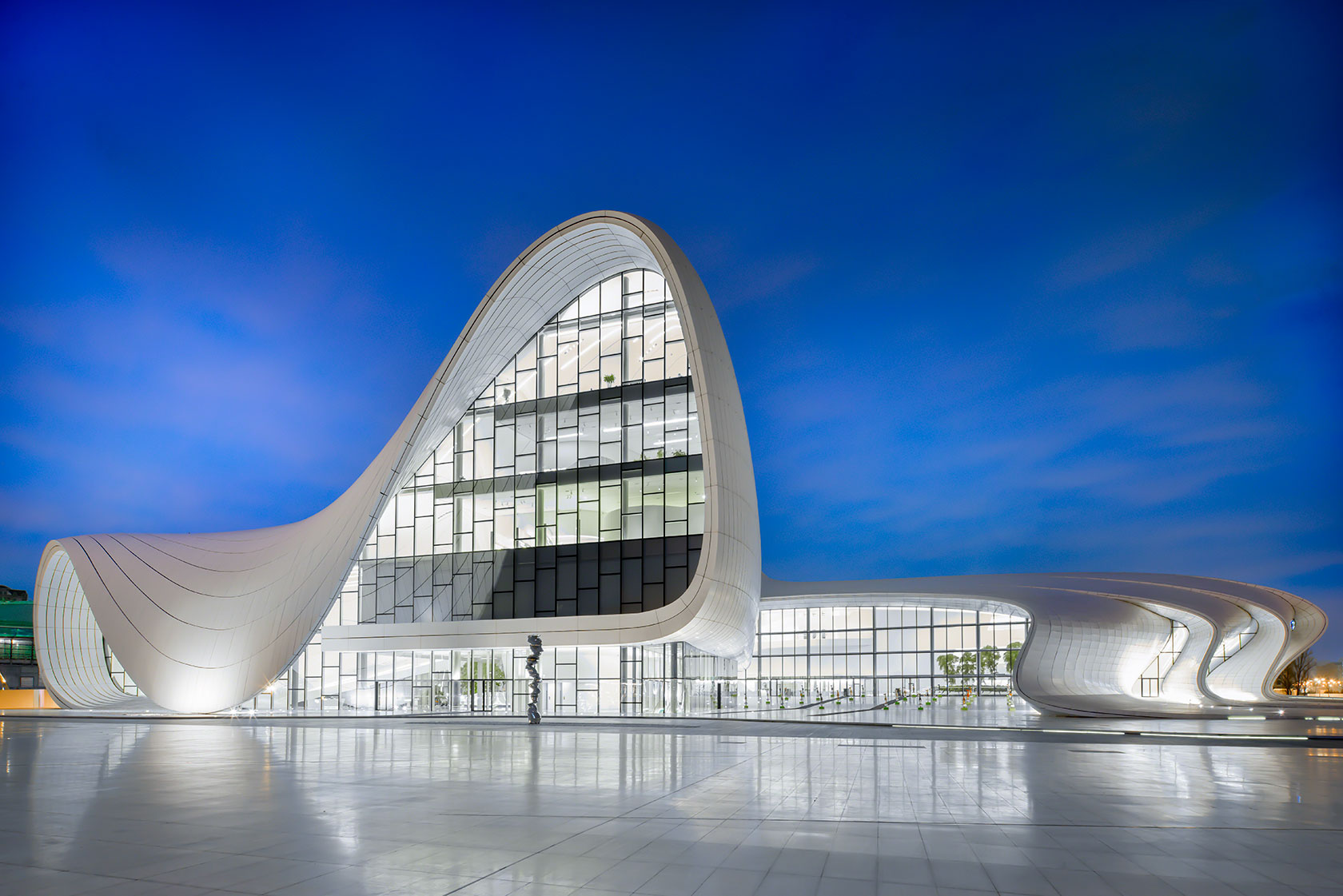 Terry Wier Photography, Heydar Aliyev Centre 01