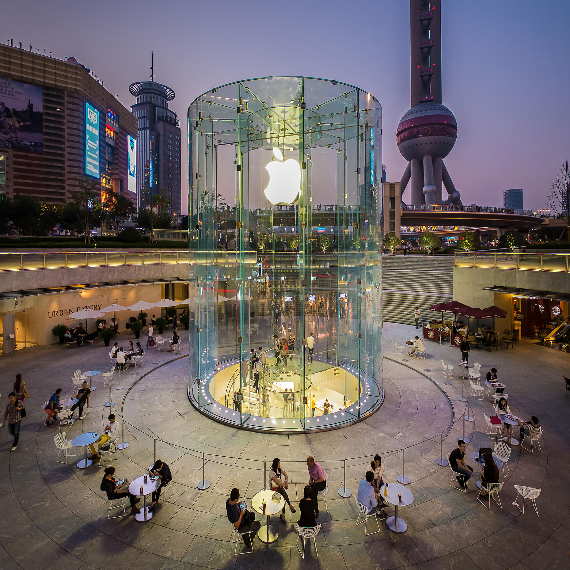 Terry Wier Photography, Apple Shanghai 01