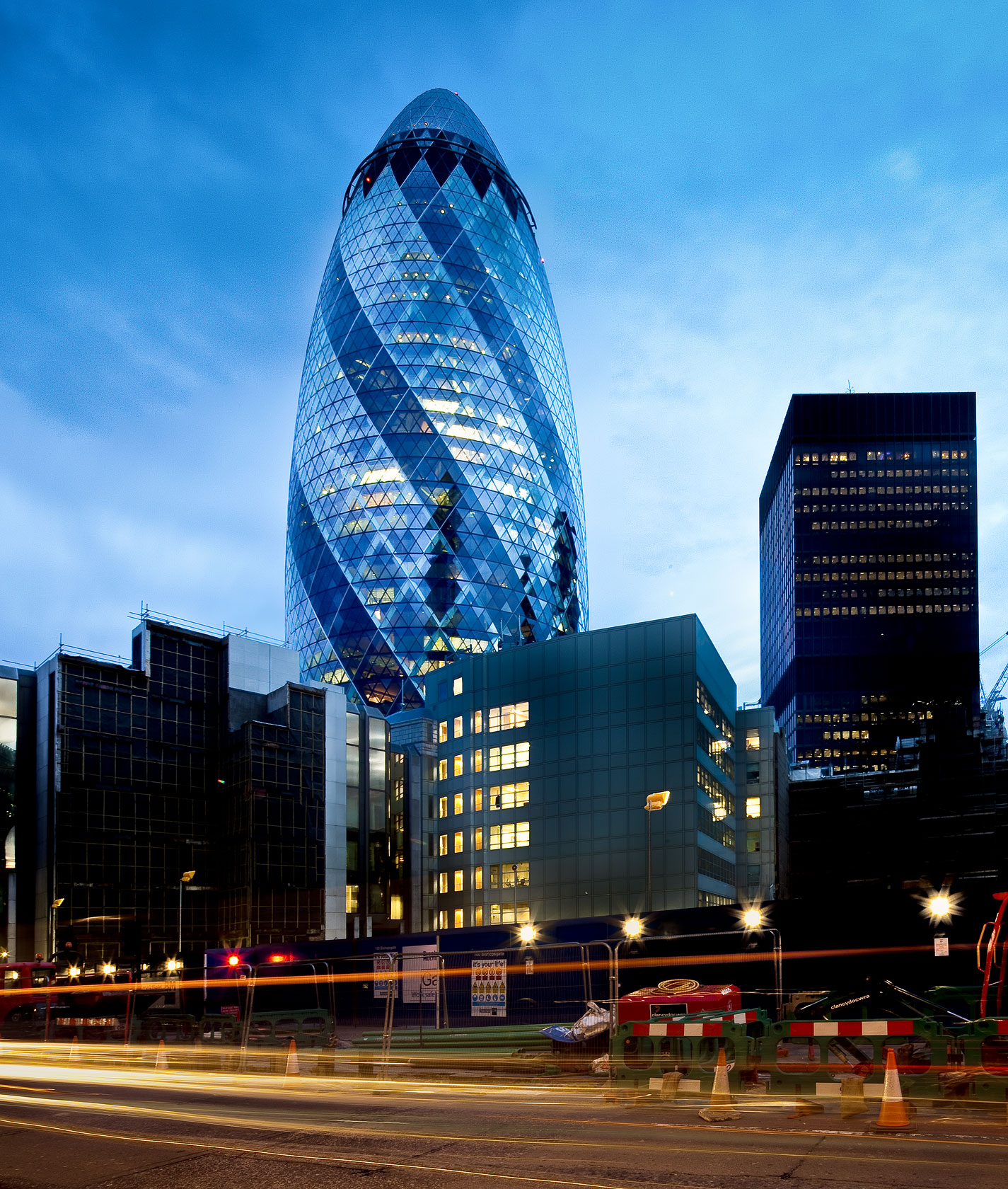 Terry Wier Photography, Gherkin Building 01