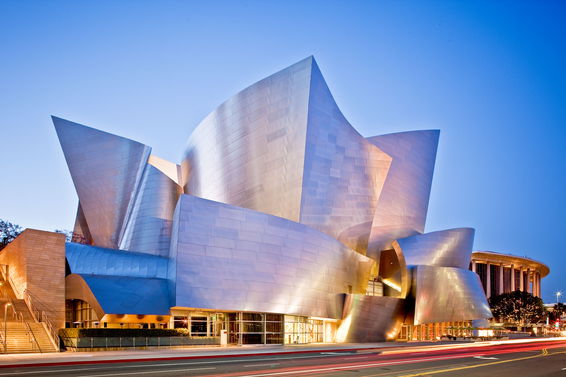 Terry Wier Photography, Disney Concert Hall 01